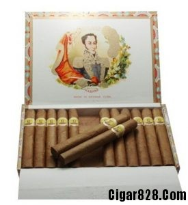 波利瓦尔皇冠Bolivar Royal Coronas【木盒25支装】